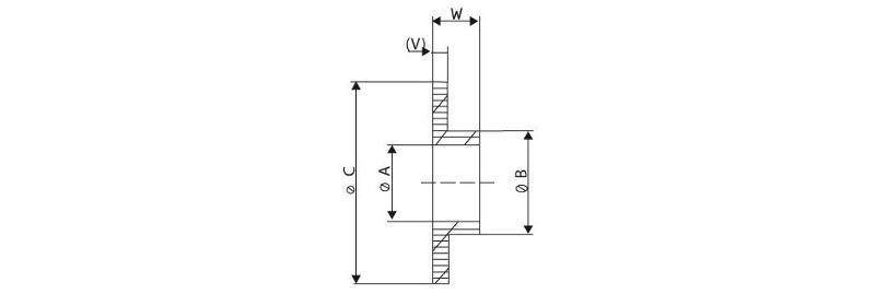 Damping materials - Insulation bushings (Polyamide)