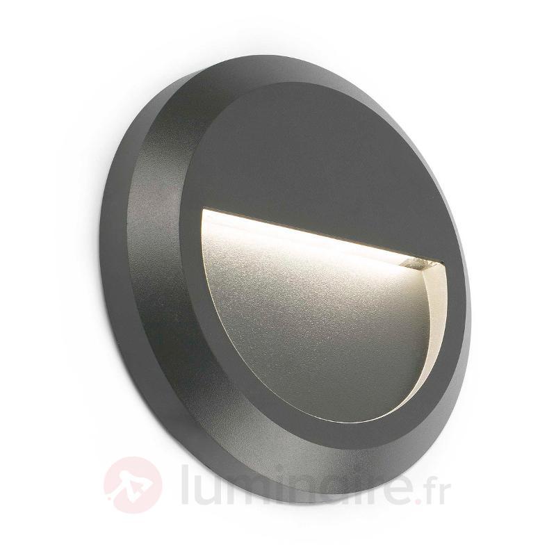 Applique extérieure LED Grant ronde - Appliques d'extérieur LED