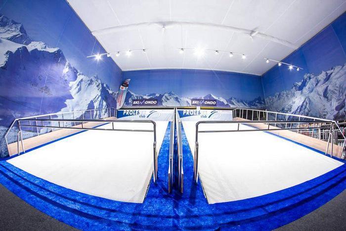 Indoor PROLESKI PRO1 ski simulator snowboarding skiing  - Indoor PROLESKI PRO1 ski simulator snowboarding skiing