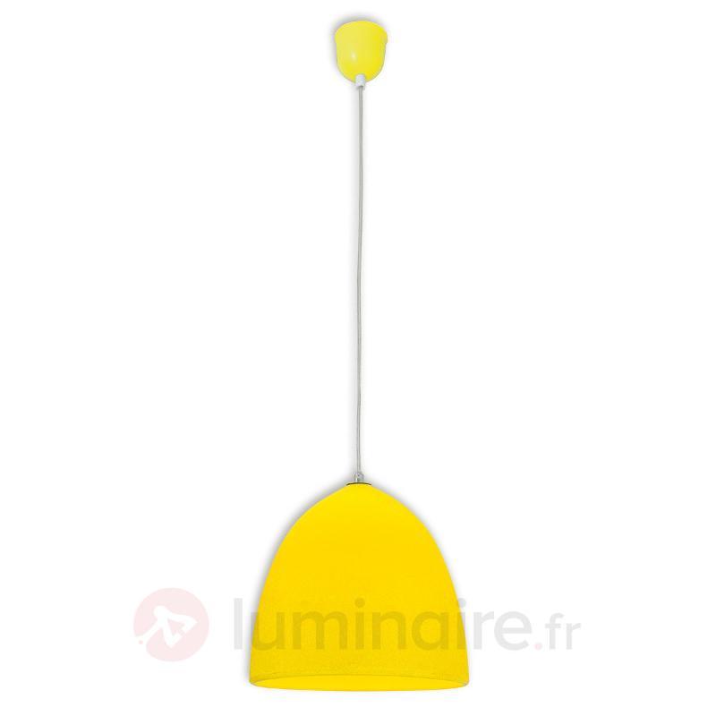 Suspension en silicone Fancy, jaune - Toutes les suspensions