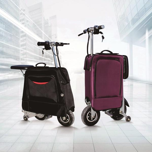 ELECTRIC LUGGAGE SCOOTER-SUM138 - ELECTRIC LUGGAGE SCOOTER