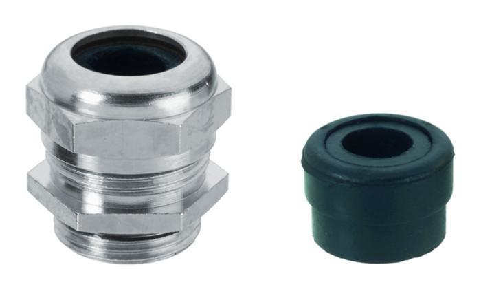 WADI one prensaestopas de acero inoxidable - de acero inoxidable 1.4404 / AISI 316L con rosca métrica M12 - M63