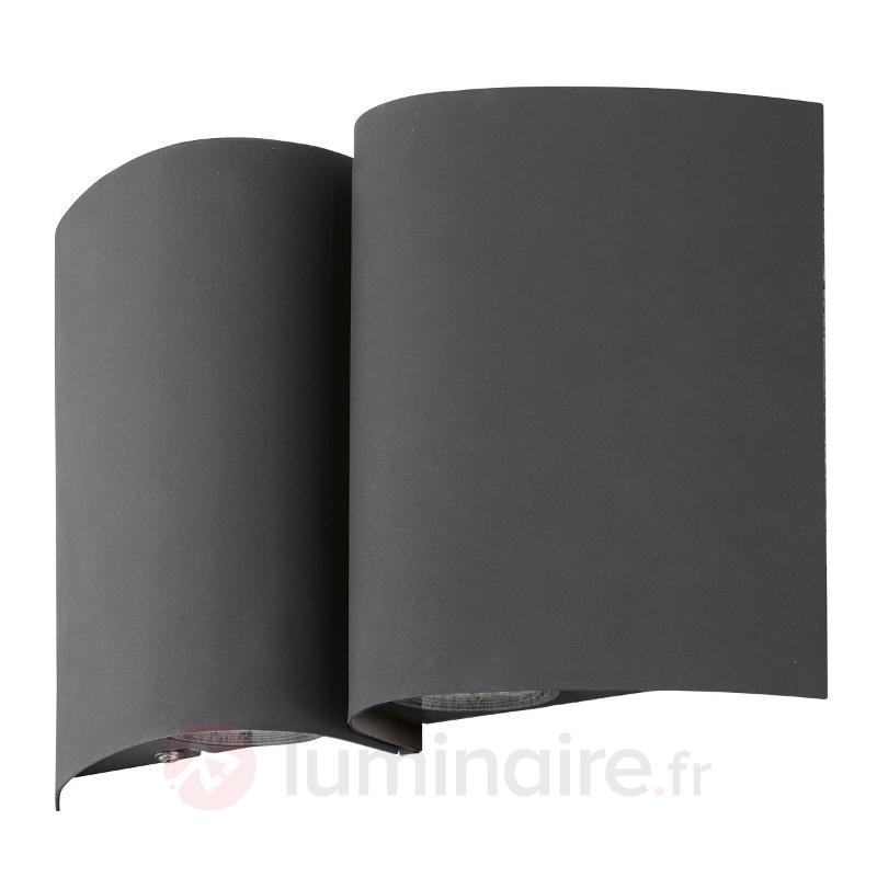 Applique extérieure anthracite LED Suesa - Appliques d'extérieur LED