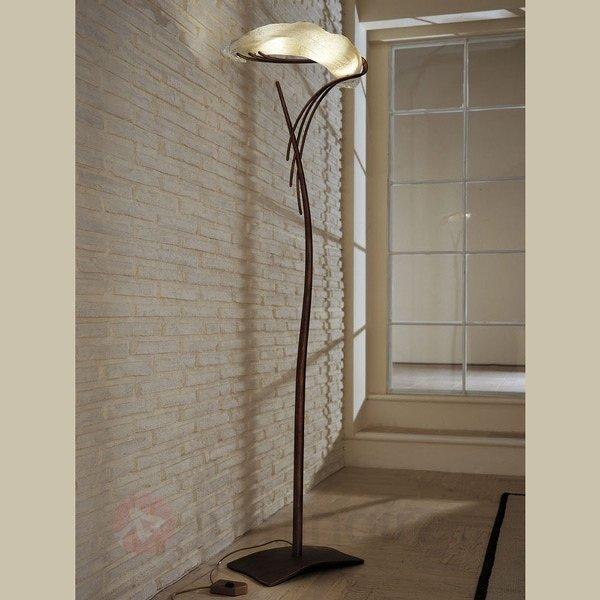 Lampadaire design ROMA très artistique - Lampadaires rustiques