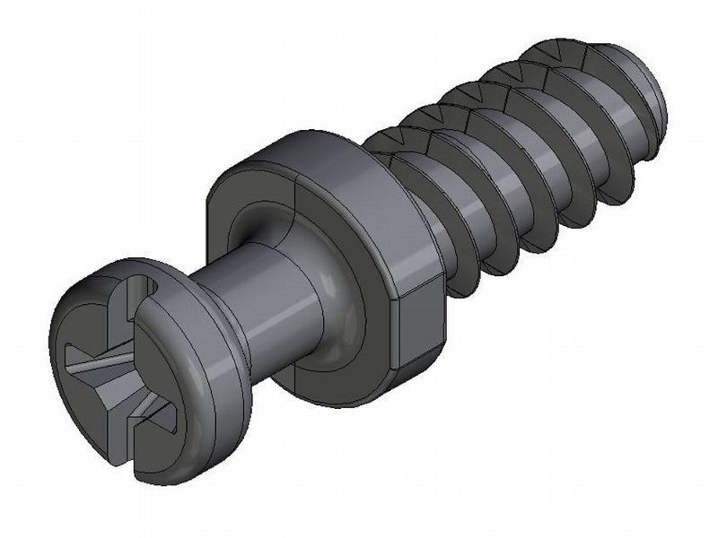 Eurobolzen AZ 20/AZ 21 - Zamak - 4mm Gewinde - 3,6mm Hals - - Bolzen AZ 20/21 - AZ 2 (7 mm)