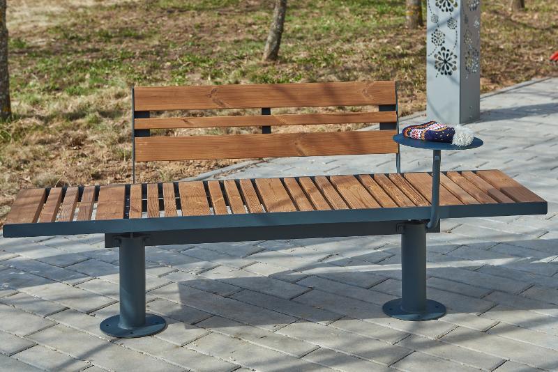 Bench «Star-2» - Outdoor