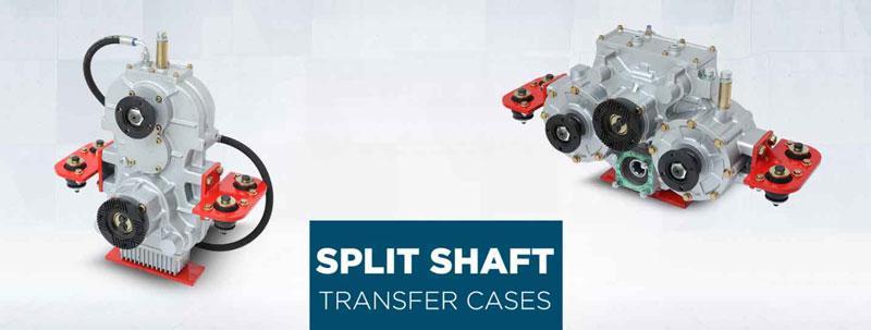 Split shaft PTO - Transfer Case - Getriebe