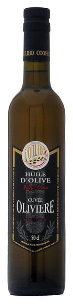 Huile cuvée olivière 25 cl - Produits oléicoles