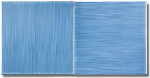 I Colori Vietresi - Pennellato - Blu pavone