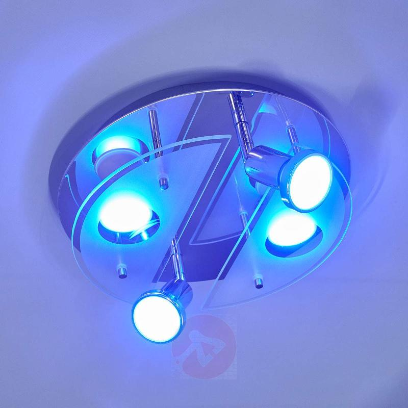 Round ceiling lamp Cabo-C LED RGBW - Ceiling Lights