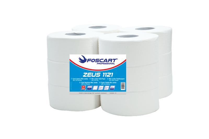 ZEUS 1121 – rotolo igienica mini jumbo - Carta Igienica Mini Jumbo