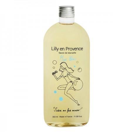 Savon de Marseille liquide - Savon de Marseille liquide Musc Blanc 350ml