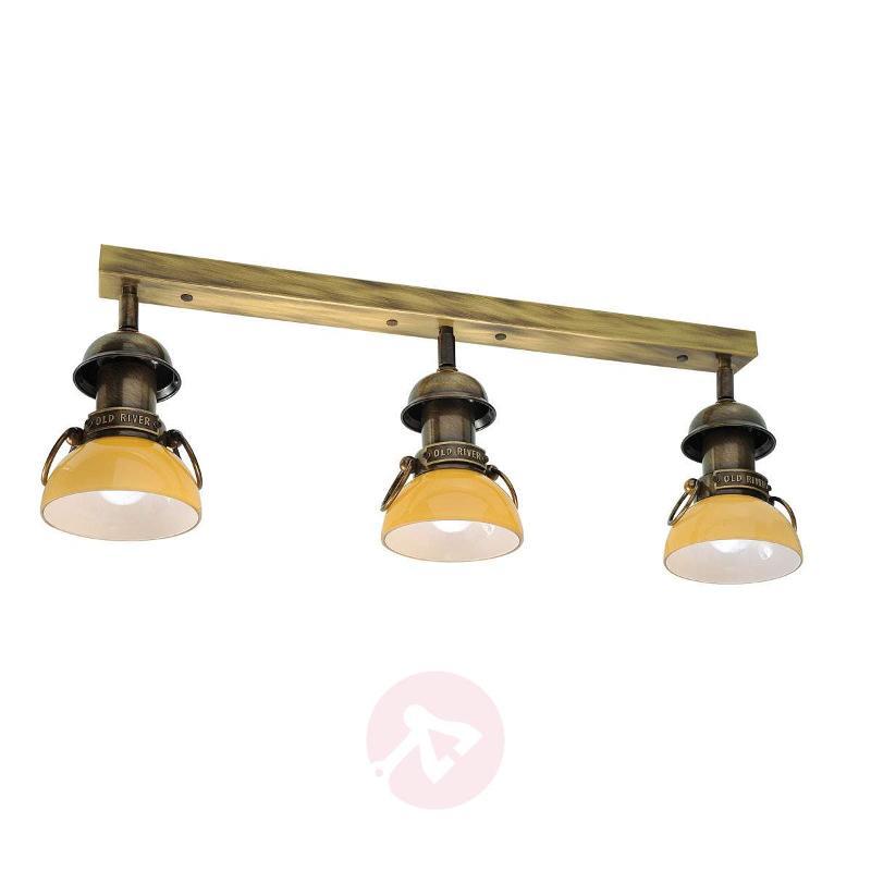 Maritime ceiling light RAVENNA, amber - Ceiling Lights