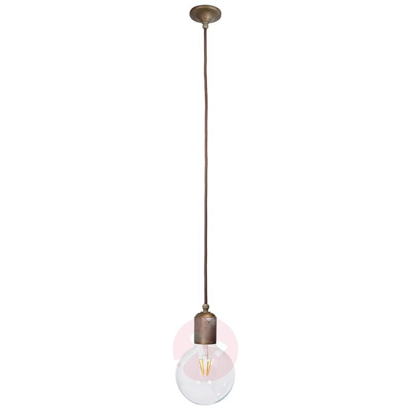 Puristic pendant light Allen - indoor-lighting