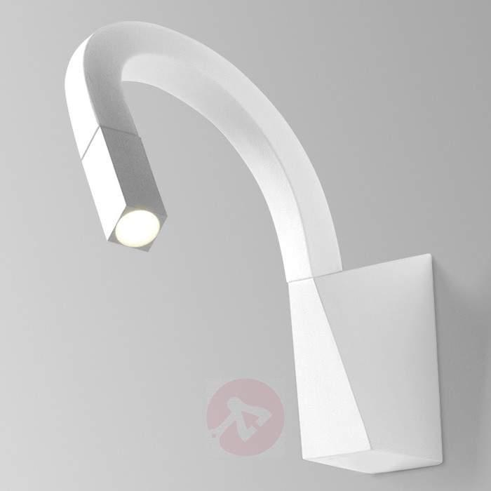 Flexible Snake LED wall light in white - Wall Lights