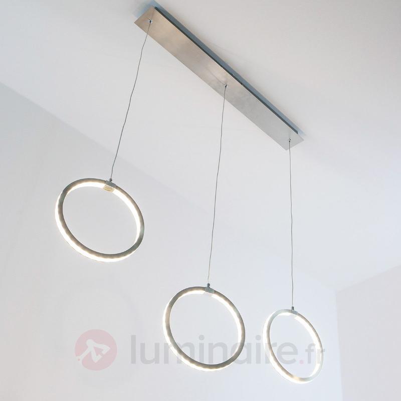Gavin - suspension LED à 3 anneaux - Suspensions LED