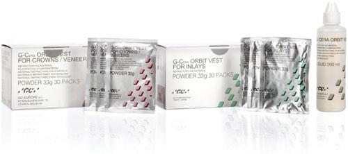 GC G-Cera ORBIT VEST - Matériau réfractaire pour die