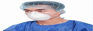 Máscara facial antipolvo -