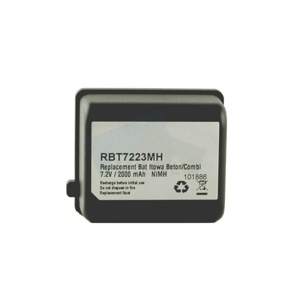 RBT7223MH Replacement remote control battery for Itowa - for Itowa 7,2 V / 2000 mAh Beton / Combi