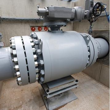 BORSIG Control ball valve - CONTROL SPHERE®
