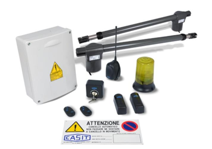 Kit automatismes portes battants CASIT