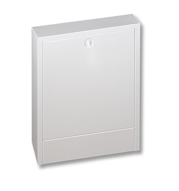 SANHA®-Heat Distribution cabinet - Distribution cabinet, surface-mounted, galvanically zinc-coated steel sheet