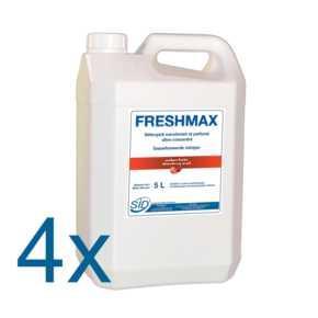 FRESHMAX Fraise ct 4x5L - Détergent surodorant et parfumé ultra-concentré