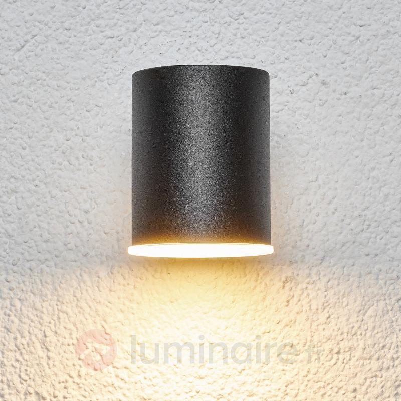 Applique d'extérieur LED sobre Morena, noir - Appliques d'extérieur LED