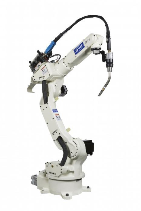 6 Axis-Robot FD-V8 - For higher load capacities and interference-free welding