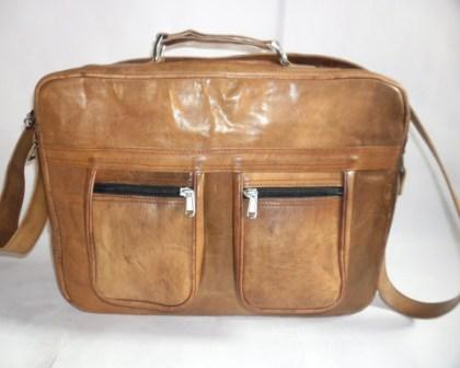 Leather Bag - Leather briefcase bag
