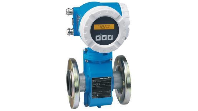 debit mesure produits - debitmetre eleectromagnetique promag 50L