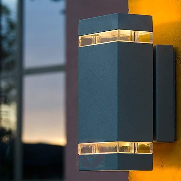 Rectangular-shaped FOCUS LED exterior wall light - Outdoor Wall Lights