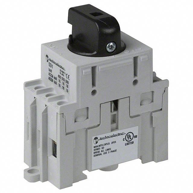 SWITCH DISCONNECT 16A 600V BLACK - American Electrical Inc. 19200-11