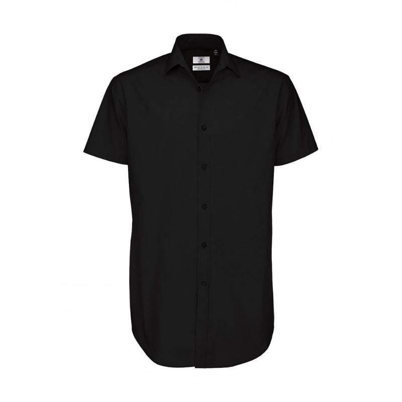 Chemise manches courtes homme Poplin - Homme