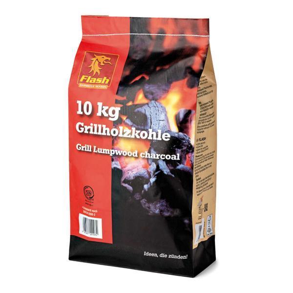 FLASH Grillholzkohle 10 kg  -