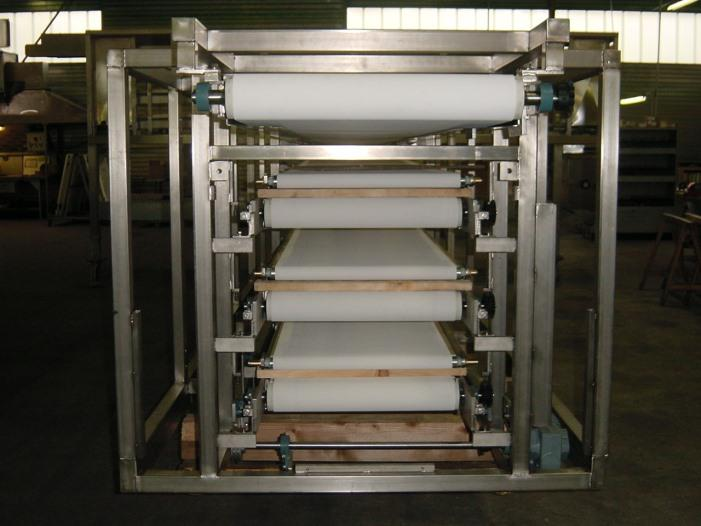Fabricant du four et éléments de la ligne pour la boulangerie industrielle