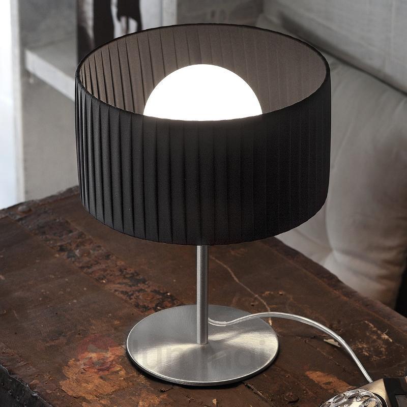 Lampe à poser raffinée Fog Plissé - Lampes de chevet