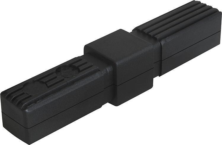 Square tube connectors straight - K0615