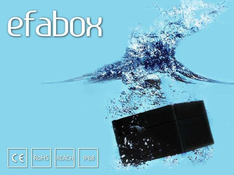 efabox boitiers aluminium IP68