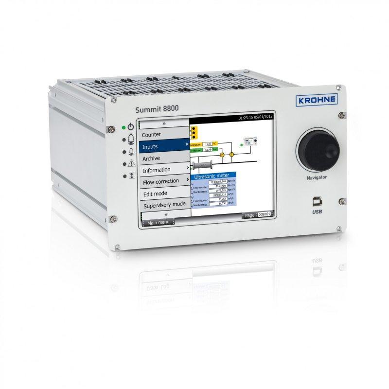 SUMMIT 8800 - Flow computer / for custody transfer / Fully digital