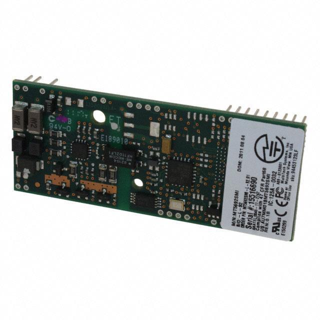 V.92 SERIAL DATA - Multi-Tech Systems Inc. MT5692SMI-L-92.R1