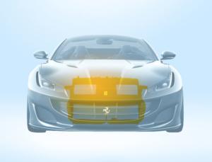 Convogliatore aria - Ferrari Portofino
