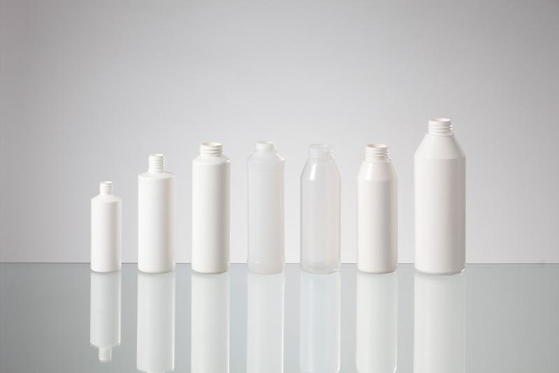 Cylindrical round bottles