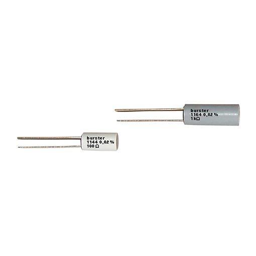 高精度电阻- 114x, 116x - 对于最高要求,长期温度稳定性和容错性,等级±0.02%或±0.05%
