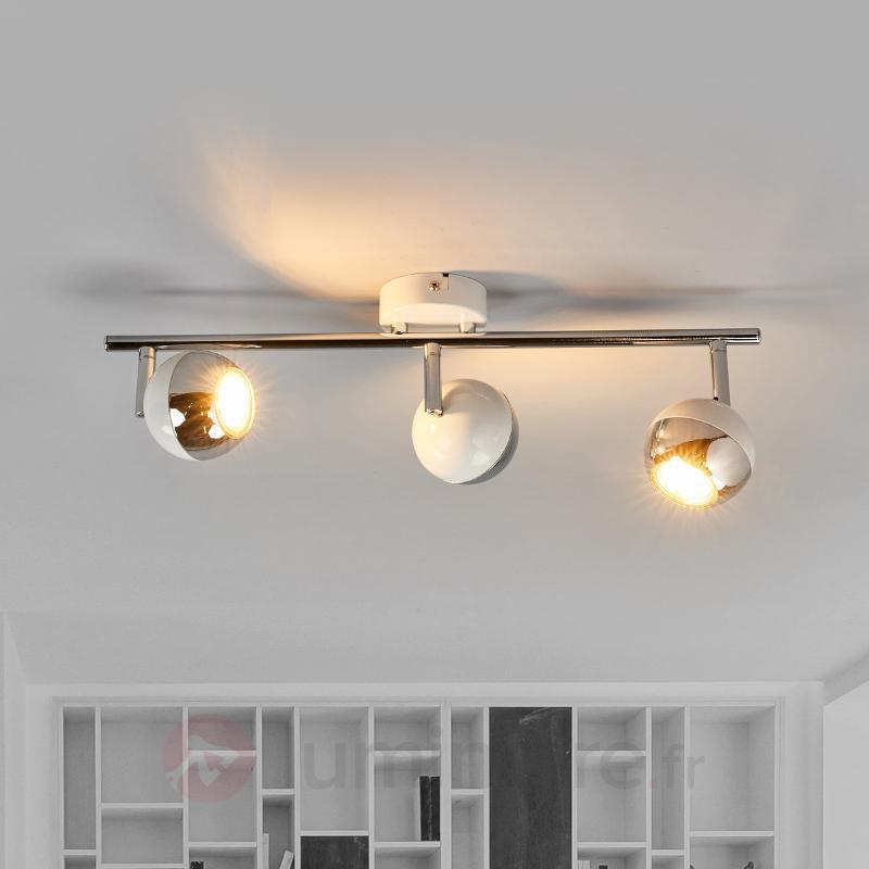 Projecteur LED Arvin avec trois têtes de lampe - Spots et projecteurs LED