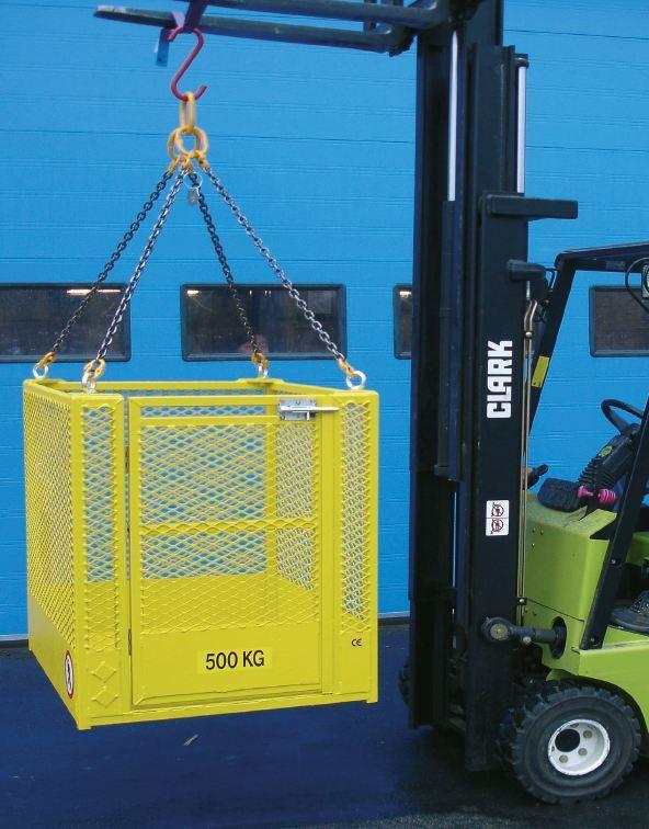 Nacelles de levage - Bac pour transport de matériel type BAMAT
