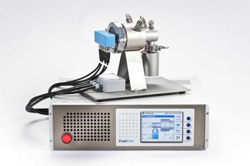 Gerät zur Protonenleitfähigkeitsmessung - Zur Messung der Leitfähigkeit von Brennstoffzellen oder anderen Membranen