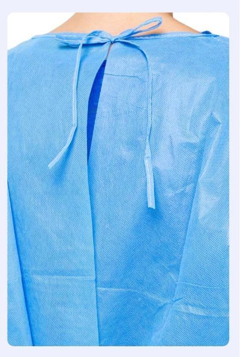 Camici medici non tessuti monouso sterili rinforzati sterili - Camici medici non tessuti monouso sterili rinforzati sterili SMS