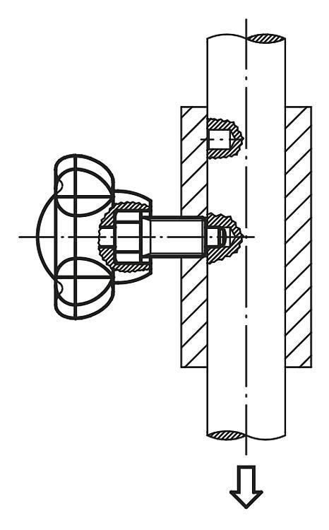 Doigts d'indexage avec bouton étoile - Cimblots, systèmes de positionnement