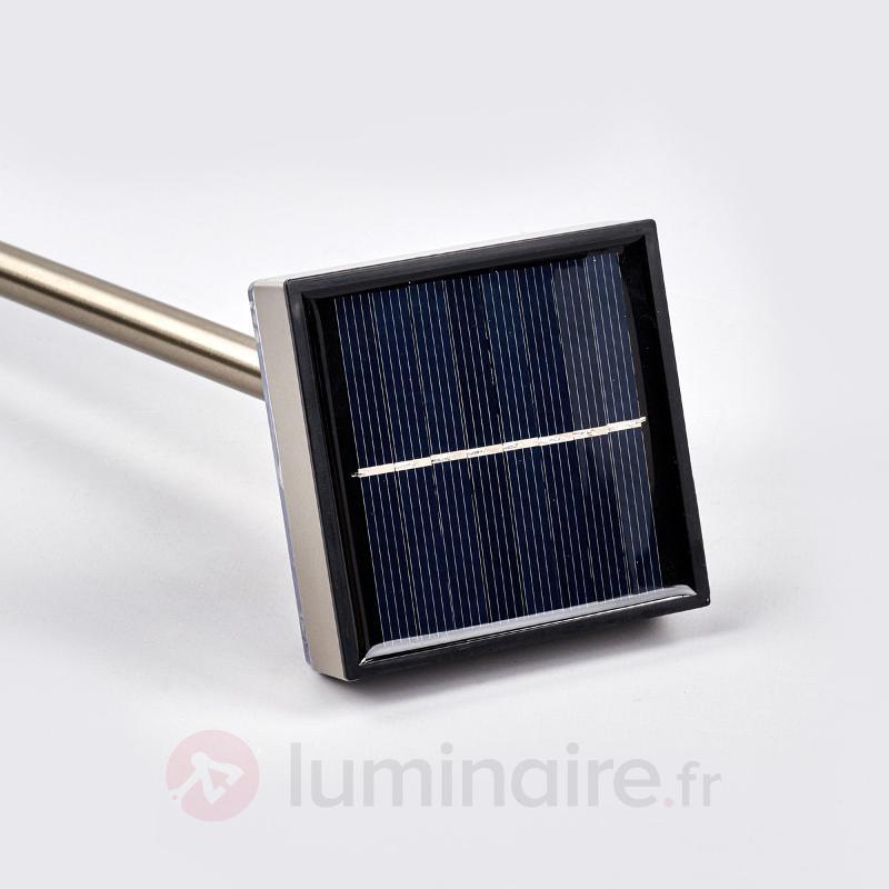 Borne lumineuse solaire Kasimir avec LED - Toutes les lampes solaires